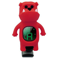 SWIFF Red Bulldog Clip on Chromatic Tuner for Guitars Mandolins Bass Fiddle Ukelele Violin Acoustic or Electric - Red