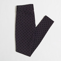 Factory dotted Gigi pant with pockets : knit pants | J.Crew Factory