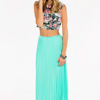 Lost In Folds Maxi Skirt $36
