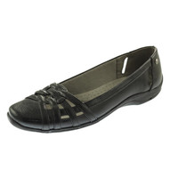 LifeStride Womens Diverse Faux Leather Lined Round-Toe Shoes