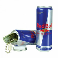 Red Bull Energy Drink Can Safe