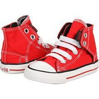 CONVERSE Kids' All Star Easy Slip Tod (Red 5.0 M)