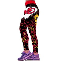 Dolphins Chiefs Falcons NFL sports printed leggings