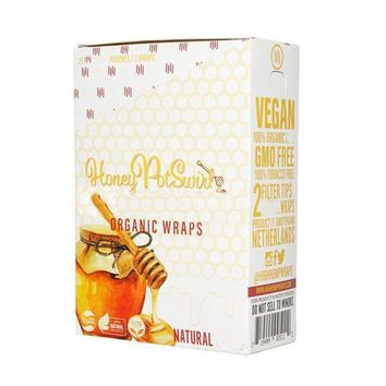 High Hemp Wraps Honey Pot Swirl Flavor (50 wraps)
