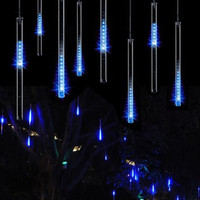 30cm 50cm Led Wedding Meteor Shower Rain Tubes Waterproof Outdoor Decoration Curtain Garland Christmas Tree Guirlande Lumineuse