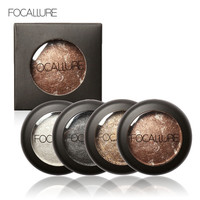 Single Baked Eye Shadow Powder Makeup Palette in Shimmer Metallic Glitter Cream Eyeshadow Palette