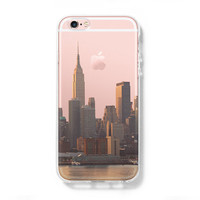 Ultrathin New York City iPhone 6s plus case iPhone 6s Clear case iPhone 6 plus 6 Transparent Case  iPhone 5s 5 5c Case