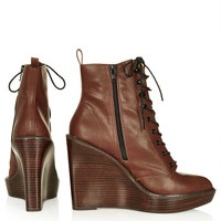 ARIA Lace Up Wedges - New In This Week - New In - Topshop USA