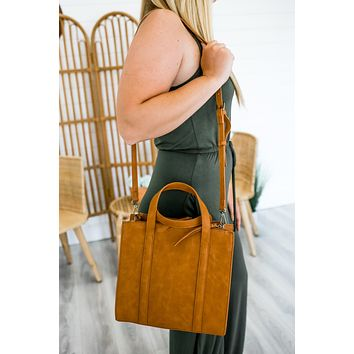 Dodge City Handbag - Cognac