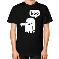 Ghost Of Disapproval Unisex T-Shirt (on man)