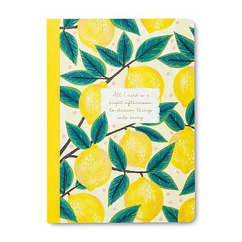 Inspirational Journal | ALL I NEED IS A BRIGHT AFTERNOON TO DREAM THINGS INTO BEING