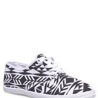 Aztec Print Tennis Shoes | Wet Seal