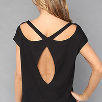 The Spirograph Cutout Top in Black by Free People   Karmaloop.com - Global Concrete Culture