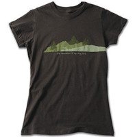 Women's Ruff Wear Adventure T-Shirt The Mountain is my Dogpark