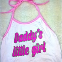 SWEET LORD O'MIGHTY! DADDY'S LIL GIRL HALTER