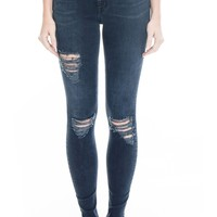 Level 99 Tanya High Waist Distressed Skinny Jeans (Mirthe) | Nordstrom