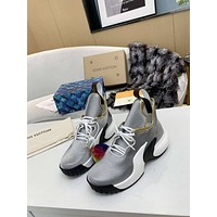 LV Louis Vuitton Woman's Men's 2020 New Fashion Casual Shoes Sneaker Sport Running Shoes12