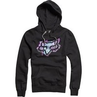Fox Racing Women's Whisper Pullover Hoodie - X-Small/Black
