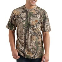 Carhartt Men's Realtree Xtra Work Camo S/S T-Shirt