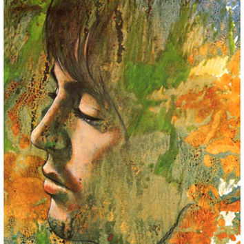 Paul McCartney Let It Be Psychedelic Poster 11x17