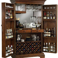 0-000071>Howard Miller Sonoma Wine and Bar Cabinet