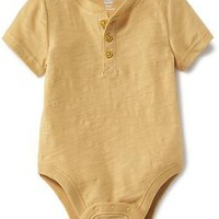 Henley One-Piece Tee for Baby