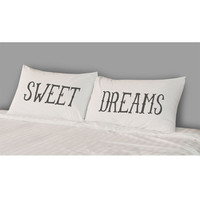 The Rise And Fall Sweet Dreams Pillowcase Set White One Size For Women 23999215001
