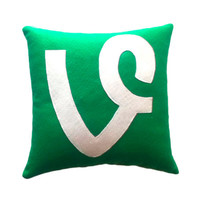 Vine Pillow by GeekyPillows on Etsy
