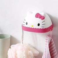 Xingkings New Hello Kitty Stand /  Wall holder Soap Holder / Case  KX-TQ13-05