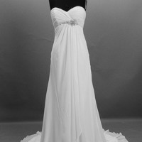 A-line/ Princess Strapless Cathedra.. on Luulla