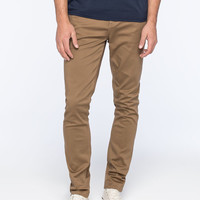 Rsq Seattle Mens Skinny Tapered Jeans Dark Khaki  In Sizes