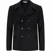 Tomas Maier Double Breasted Pea Coat