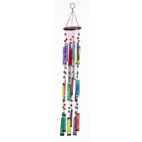 Tapestry Glass Sun Catcher Wind Chime - Women's Clothing & Symbolic Jewelry – Sexy, Fantasy, Romantic Fashions