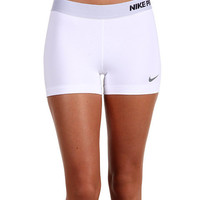 "Nike Pro Core II 2.5"" Compression Short White/CoolGrey - Zappos.com Free Shipping BOTH Ways"