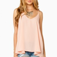 LEIF CAMISOLE IN PEACH