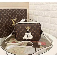 lv louis vuitton womens leather shoulder bag satchel tote bags crossbody 309