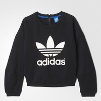 adidas Snap Sweatshirt - Black | adidas US