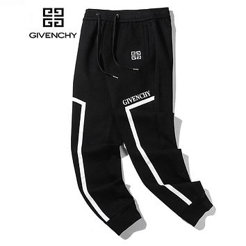 GIVENCHY Popular Men Women Casual Embroidery Sport Pants Trousers Sweatpants
