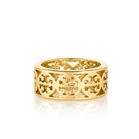 KINSLEY LOGO BAND RING