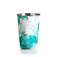 Illume: Watermint Enameled Tumbler Candle
