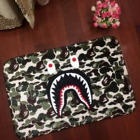 Cartoon Bape Print Anti-skid Alphabet Bathroom Carpet Living Room Bedroom Mat