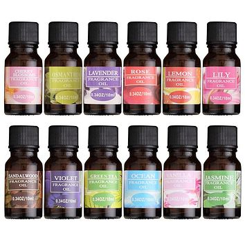 Aromatherapy Essential Oils for Diffusers & Humidifiers