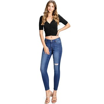 Conscience Mid Rise Skinnys