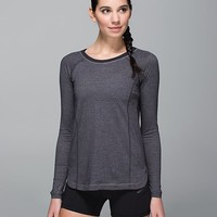 turn it up long sleeve | women's tops | lululemon athletica
