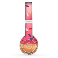 The Sprinkled 3d Donut Skin Set for the Beats by Dre Solo 2 Wireless Headphones