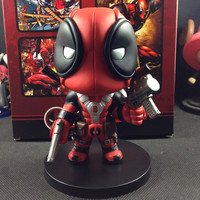 "2015 Q Version X-men Deadpool PVC Doll Action Figure Toys Gift For Children Collectible Toy 5.5""14cm"