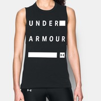 Women's UA Stacked Wordmark Muscle T | Under Armour US