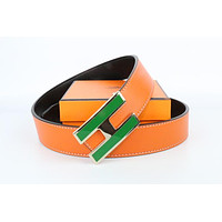 Hermes belt men's and women's casual casual style H letter fashion belt269