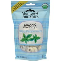Yum Earth Organic Hard Candies Wild Peppermint - 3.3 oz