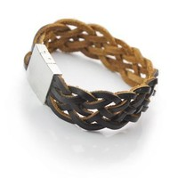 Hot Sale Great Deal Gift New Arrival Shiny Stylish Awesome Leather Men Accessory Cool Bracelet [6526728131]